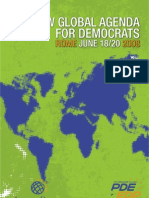 A New Global Agenda for Democrats