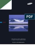 Samsung DLP - HLP6163W- User Manual
