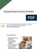Equipamentos Passivos de Redes