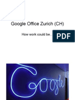 Google Office in Zurich !!!!