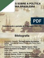 ReflexÕes Sobre a PolÍtica Externa Brasileira No PerÍodo Do Segundo Reinado (1851-1870)