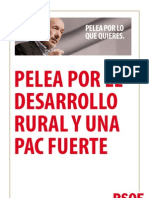 Pelea Por El Desarrollo Rural y Una Pac Fuerte[1]