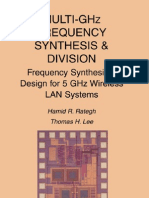 Multi-GHz Frequency Synthesis TLee
