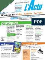 ACTU Recto-Verso Horsserie 2011