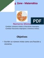Cómo Cambiar de Números Mixtos a Fracciones Impropias