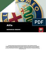 Instrukcja Obslugi ALFA ROMEO GT PL