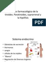 Acciones farmacológica de la tiroides [Autoguardado]