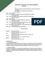 Seminario Internacional de Porcicultura y Medio Ambiente