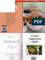 Wilson Anne - Cocina Vegetarian A Rapida