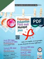 Affiche Journée mondiale contre le Sida 2011