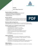 Estatutos Proyectos