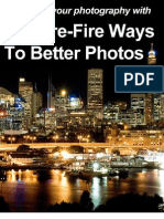 12 Sure Fire Ways to Better Photos