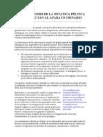 ALTERACIONES DE LA ESTÁTICA PÉLVICA QUE AFECTAN AL APARATO URINARIO