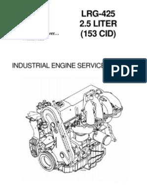 194-303 LRG425   Internal Combustion Engine   Cylinder (Engine)
