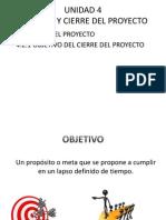 Objetivo Del Cierre Del Proyecto3