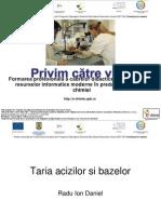 Chimie Analitica - Taria Acizilor Si a Bazelor