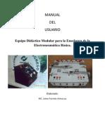 38729681 MANUALde Equipo Modular Didactico Para Electroneumatica