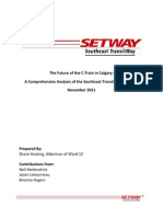 SETWAY - A Comprehensive Analysis of the Southeast Transit Way