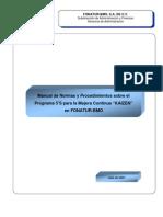 1.1.1 5´s Manual implementacion FONATUR-BMO
