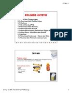 Polimer Sintetik