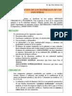 Capitulo I Clasificacion de Materiales A
