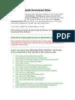 Book Download Sites