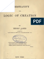 Henry James Christianity the Logic of Creation New York 1857