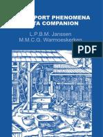 Transport Phenomena Data Companion