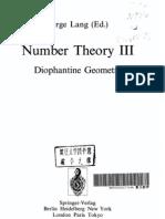 Number Theory III