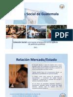 2011 - 11 Política Social de Guatemala - Presentación