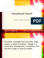 Transitional Church