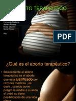 EL ABORTO TERAPEUTICO