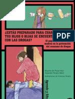 Intervención familiar sobre el consumo de narcóticos de sus hijos
