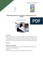 Inscripcion Suspencion,Actualizacion Del Ruc en Ecuador