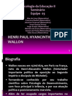 Seminário Psicologia Wallon