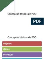 Conceptos básicos de POO1