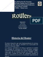 Equipo 8 - Historia Del Router