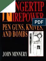 (Paladin Press) Fingertip Firepower All About Pen Guns