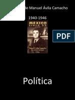 Gobierno de Manuel Ávila Camacho