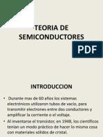 TEORA DE SEMICONDUCTORES