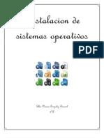 1er Informe Instacion de Sistema Operativo