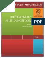 Politica Monetaria y Fiscal Mexico 2