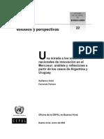 Anllo y Peirano 2005 - SNI Argentina y Uruguay