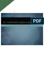 EL MAXIMATO (1928 a 1934) Expo Sic Ion.