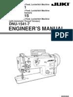 JUki DNU-1541S Eng Manual