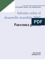 Banco Mundial 2002