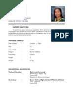 cristy balunsat resume2