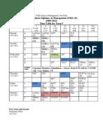 2. Timetable Sep 19-24