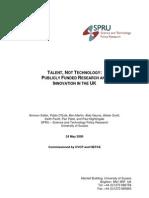 Salter& Al 2000 - Talent Not Technology