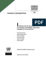 Samoilovich Et Al 2005 - Instituciones de Apopyo a La Innovación